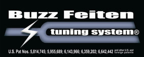 Picture of logo for the buzz feiten tuning system